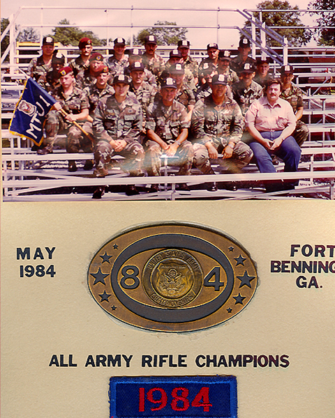 All Army Rifle Champions